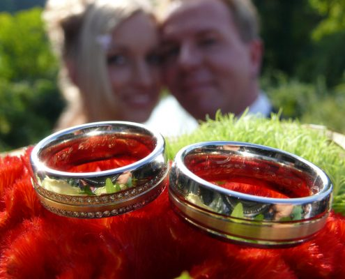 Hochzeitsfoto Eheringe