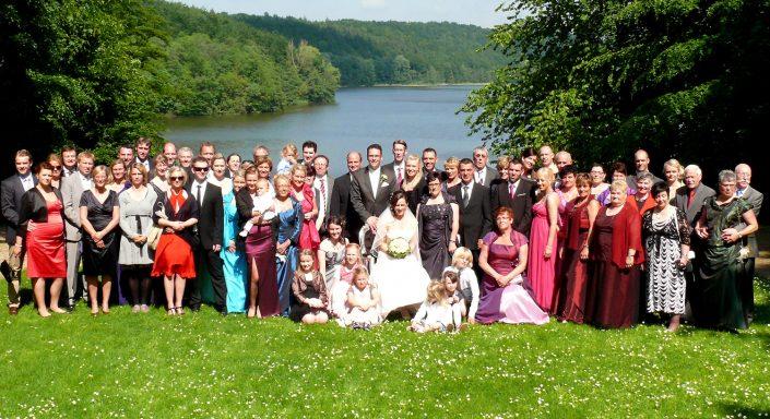 Hochzeitsfoto Gruppenbild