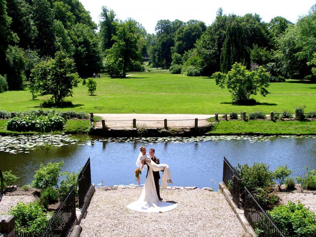 Hochzeitsfoto Park