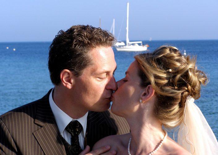 Hochzeitsfoto Meer