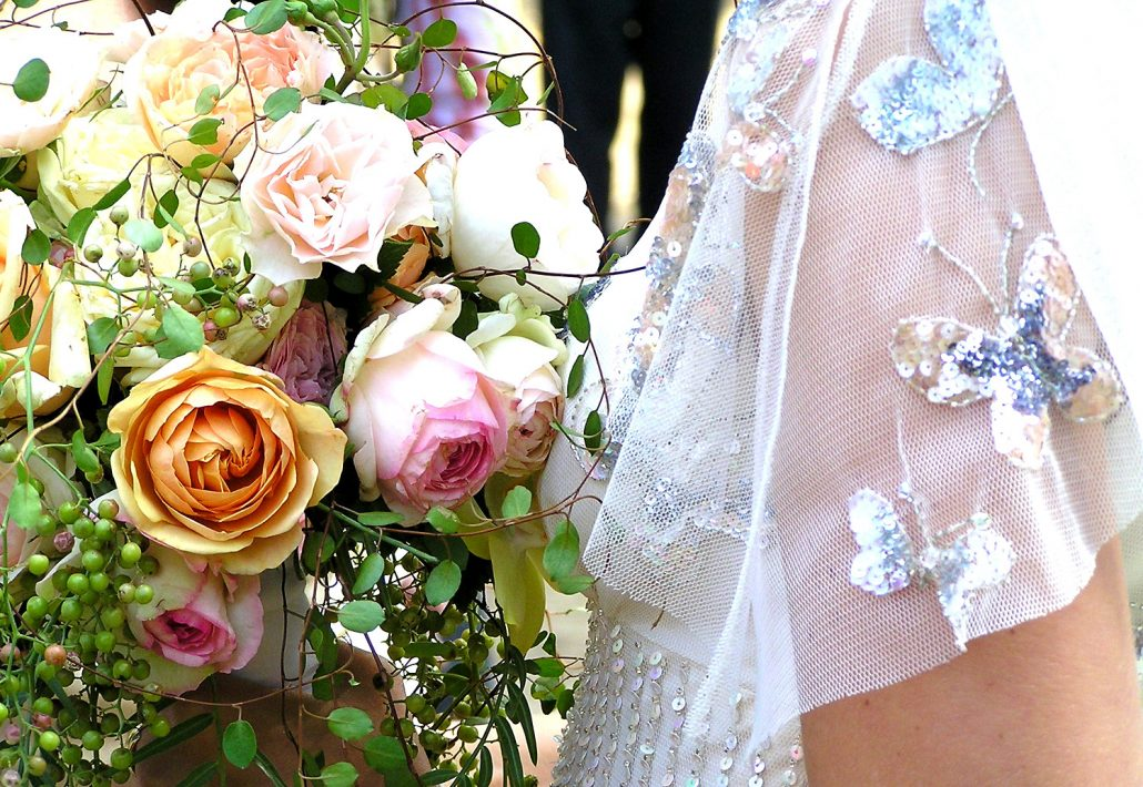 Hochzeitsfoto Brautkleid
