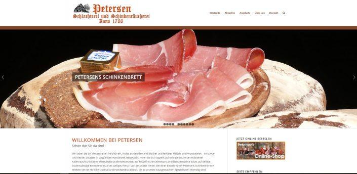 otto-photo Webdesign Schlachterei Petersen