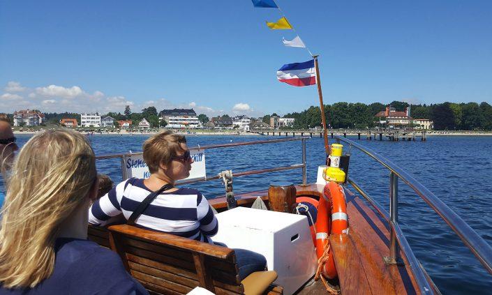 Ostsee Boot Ausflug Haffkrug