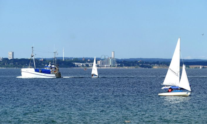 Ostsee Boote Sieksdorf