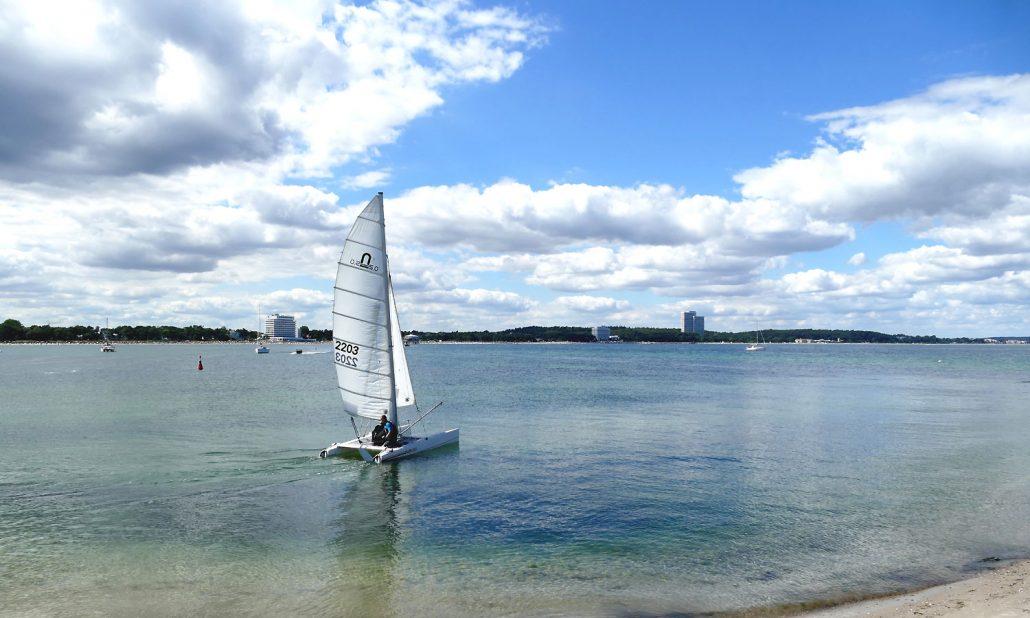 Ostsee-Niendorf-Strand Hotels Segelboot