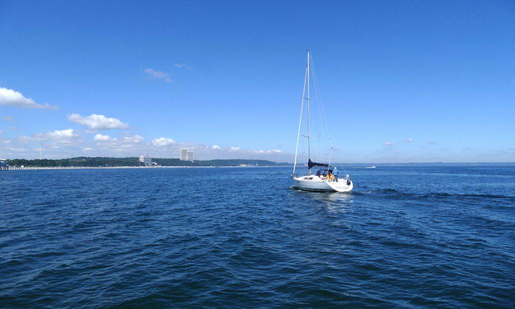 Ostsee Segelboot