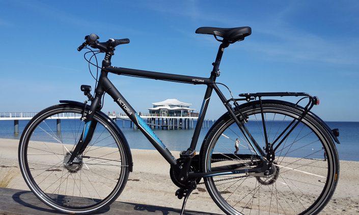 Ostsee-Teehaus-Fahrrad