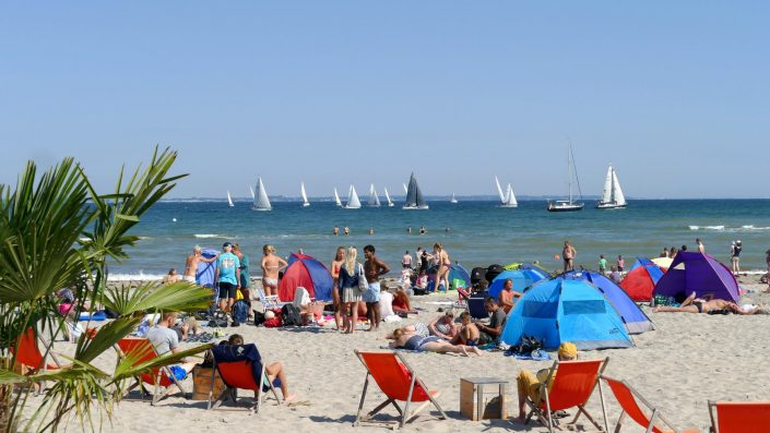 otto-photo Ostsee Strand Niendorf Regatta