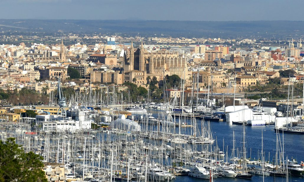 otto-photo-Mallorca-Palma-Hafen Kathedrale