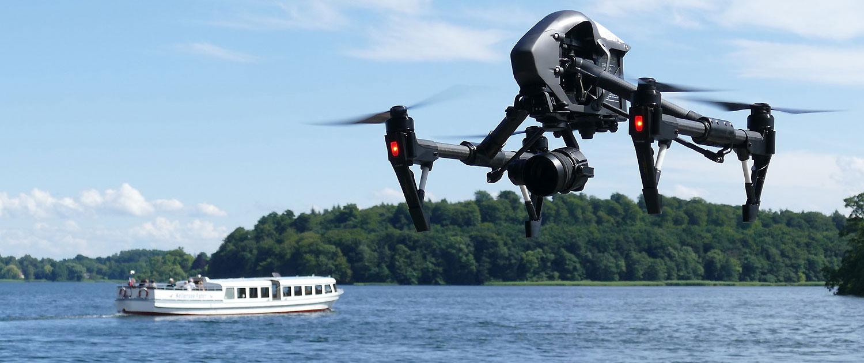 Luftbild und Film via Copter Drohne