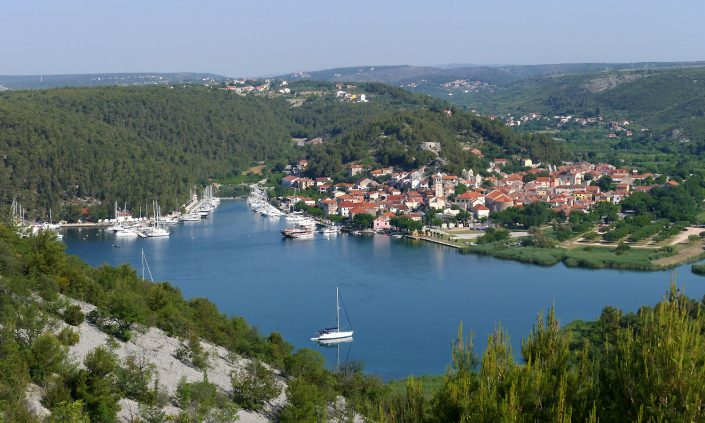 Kroatien Skradin
