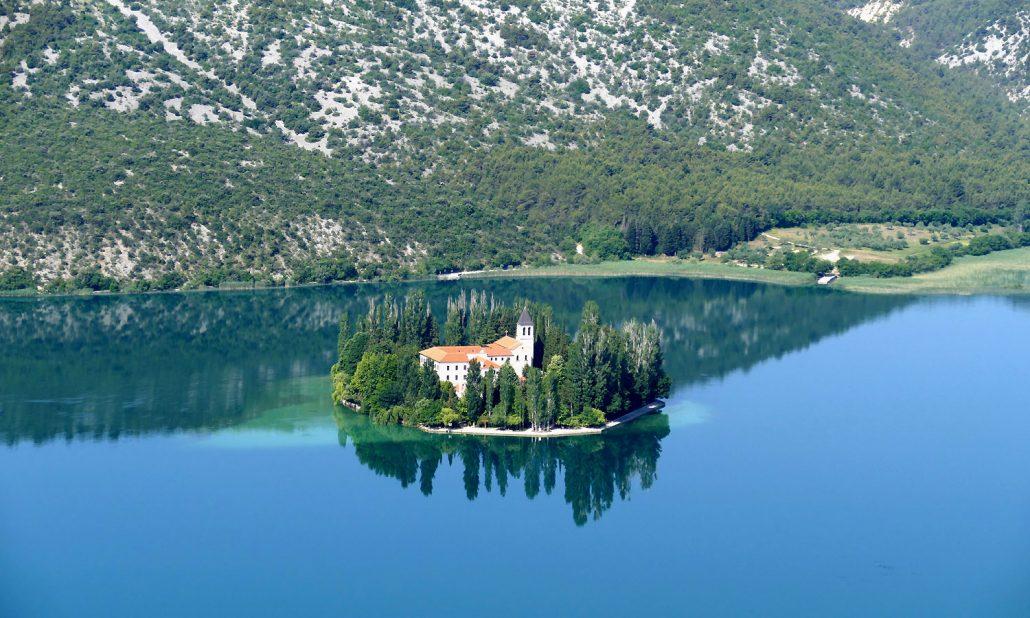 Kroatien Visovac Monastery