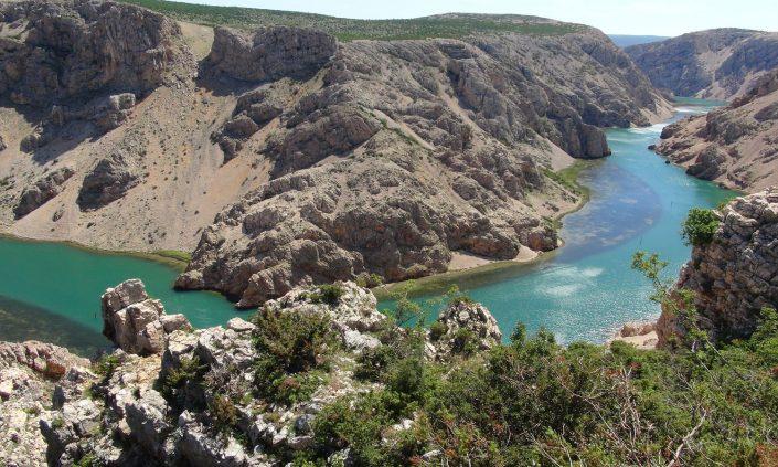Kroatien Zrmanja-Canyon