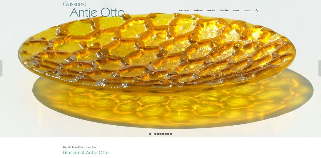 Homepage Antje Otto