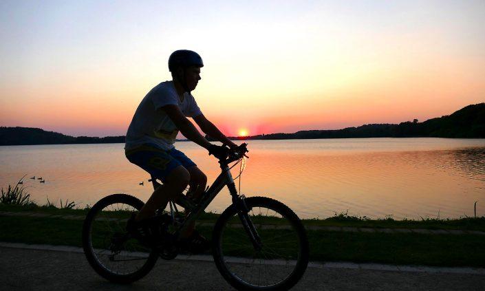 otto-photo Bad Malente Bike Dieksee Sonnenuntergang
