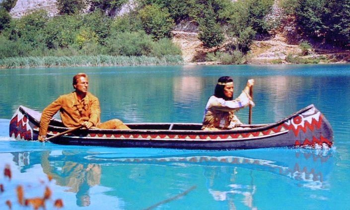 Winnetou Old Shatterhand Der Schatz im Silbersee Kanu