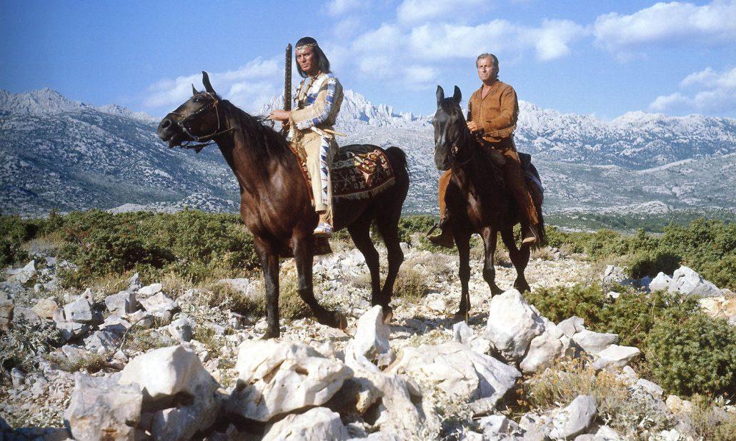 Winnetou Old Shatterhand Zrmanja Plateau Tulove Grede