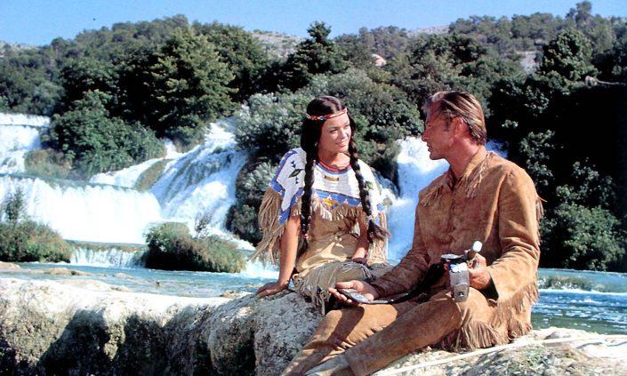 Krka Winnetou Old Shatterhand Nscho-Tschi Wasserfall