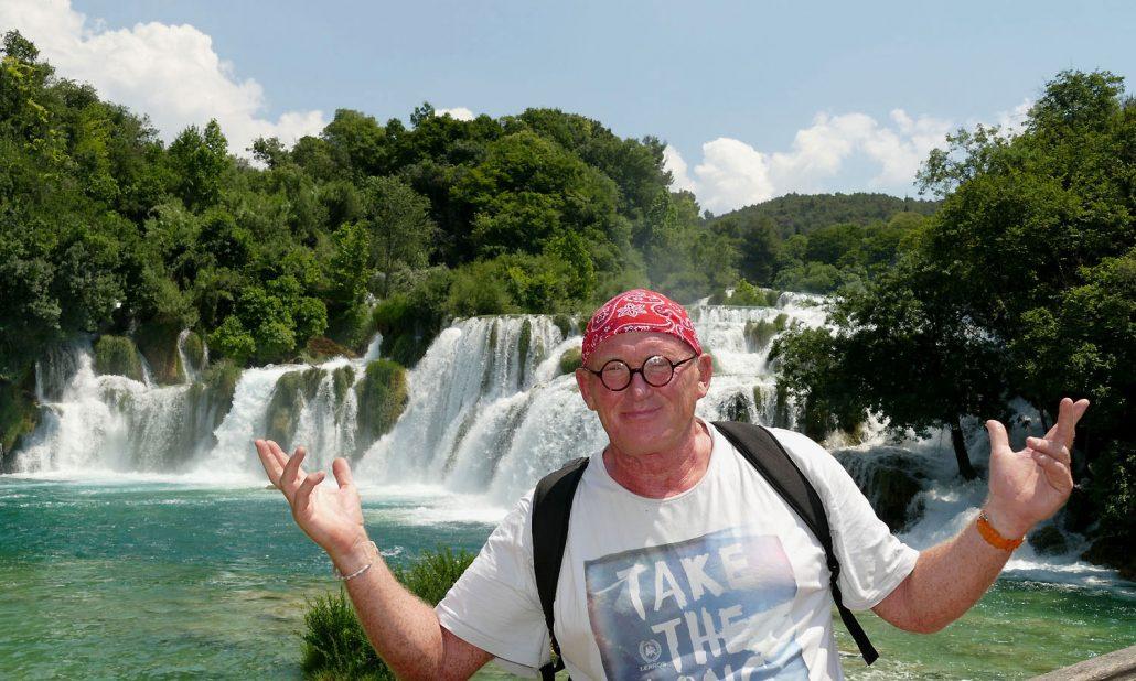 Krka Wasserfall Winnetou Manfred Otto
