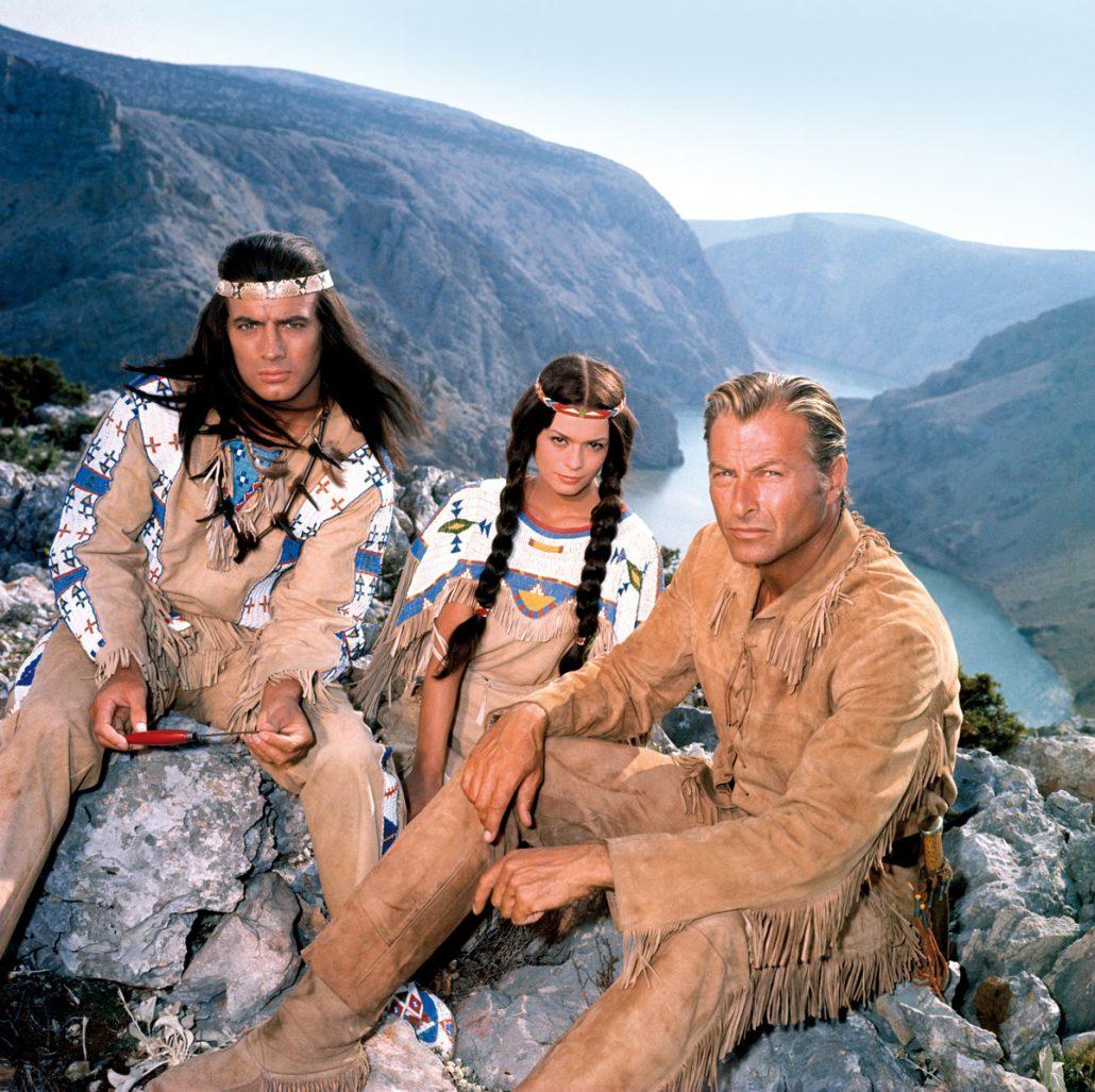 Winnetou Old-Shatterhand Nscho-Tschi Zrmanja Canyon