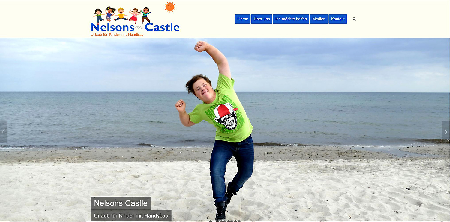 Neue Homepage Nelsons Castle